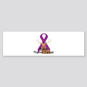 Thyroid Cancer Bumper Sticker