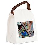 Machine Canvas Lunch Bag
