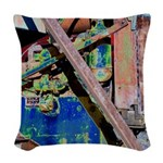 Machine Woven Throw Pillow