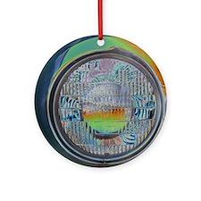 One headlight Ornament (Round)