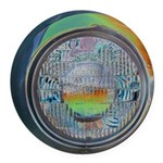 One headlight Round Car Magnet