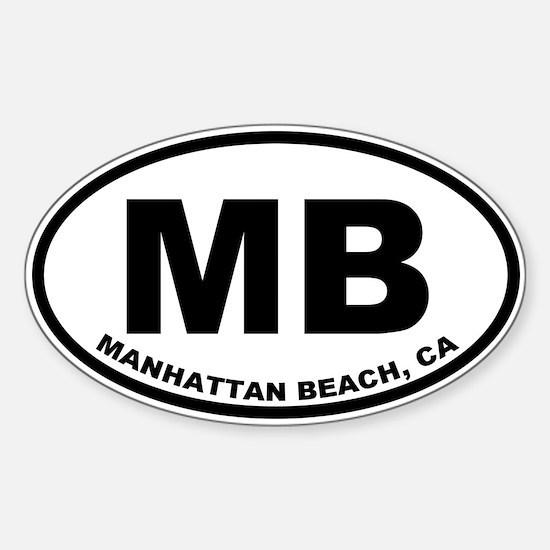 MB Manhattan Beach Decal