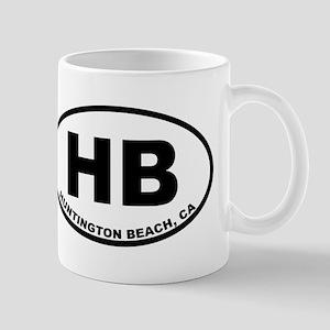 HB Huntington Beach Mugs