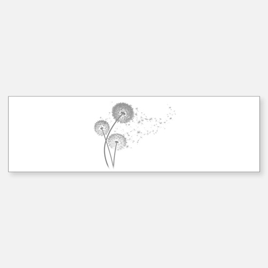 Dandelion Wishes Bumper Bumper Bumper Sticker