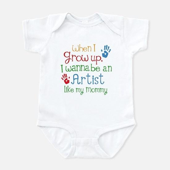 Artist Like Mommy Infant Bodysuit