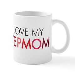 I Love My Stepmom Mugs