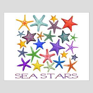 Sea Stars Small Poster