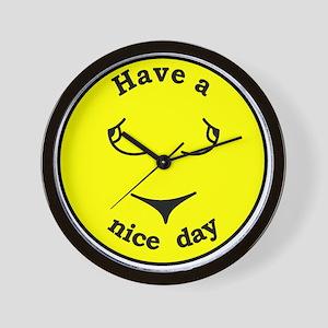 Happy Face Wall Clock