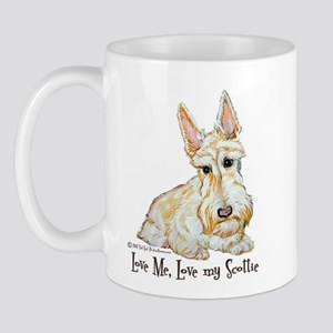 Wheaten Scottish Terrier Mug