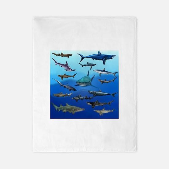 Shark Gathering Twin Duvet