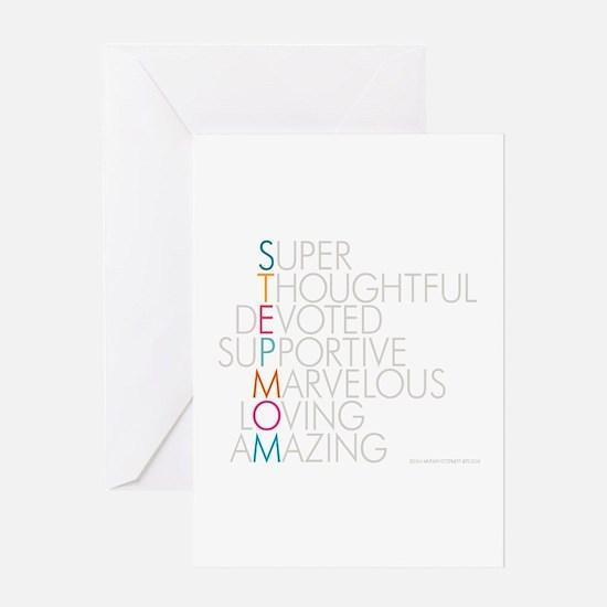 Super Stepmom Greeting Cards