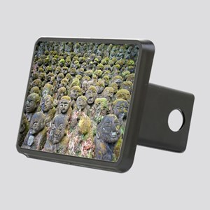 moss covered stone sculptu Rectangular Hitch Cover