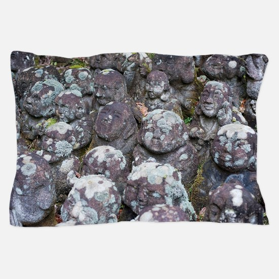 Stone rakan statues Pillow Case