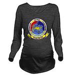 AEWBARRONPAC Long Sleeve Maternity T-Shirt