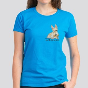 Wheaten Scottish Terrier Women's Dark T-Shirt