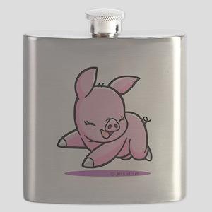 My Piggy (3) Flask