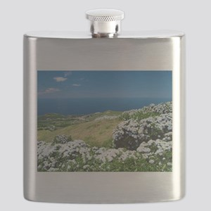 Hydrangeas everywhere Flask