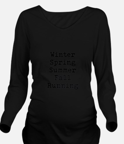 5 Seasons Long Sleeve Maternity T-Shirt