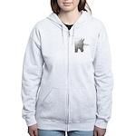 Horse Design by Chevalinite Women's Zip Hoodie