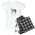 Horse Design by Chevalinite Women's Light Pajamas