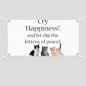 Kittens Of Peace Banner