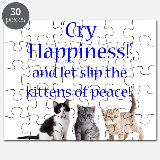 Kittens Of Peace Puzzle