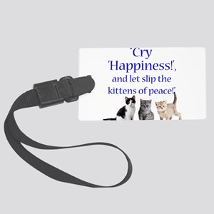 Kittens Of Peace Luggage Tag