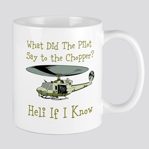 Heli If I Know Mugs