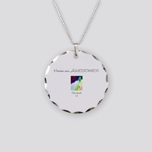 Horse Design by Chevalinite Necklace Circle Charm