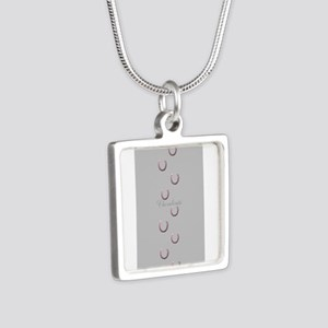 Horse Design by Chevalinit Silver Square Necklace