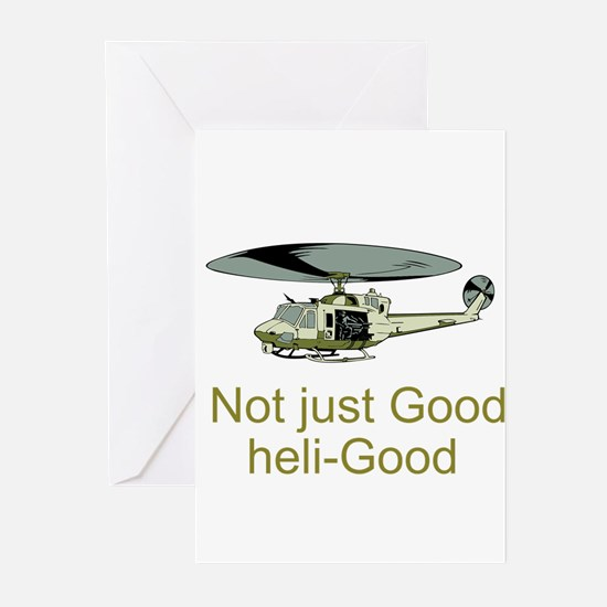 Heli-Good Greeting Cards