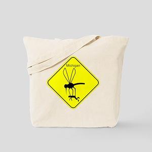 Mich State Bird Mosquito Tote Bag