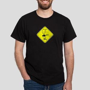 Mich State Bird Mosquito Dark T-Shirt