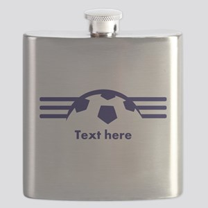 Custom Soccer Design Flask