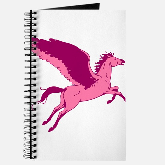Cute Pink Pegasus Journal