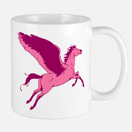 Cute Pink Pegasus Mugs