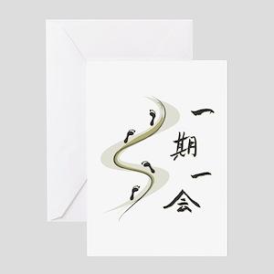 Ichigo Ichie Greeting Cards