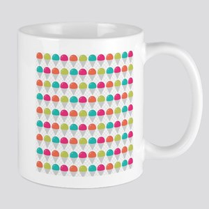 Cute Colorful Snow Cones Pattern Mugs