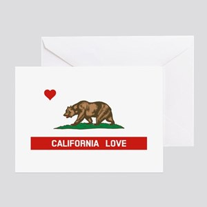 California Love Greeting Cards
