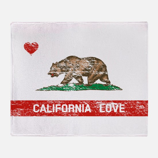 Unique California republic Throw Blanket