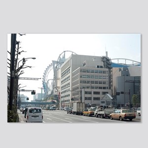 tokyo dome theme park Postcards (Package of 8)