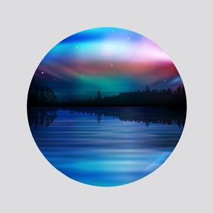 "Northern Lights 3.5"" Button"