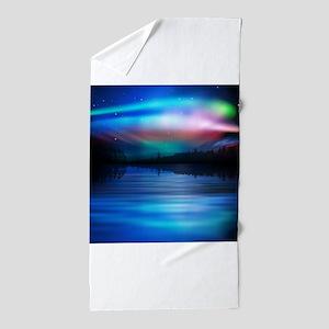 Northern Lights Beach Towel
