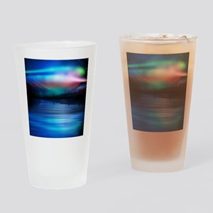 Northern Lights Drinking Glass