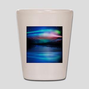 Northern Lights Shot Glass
