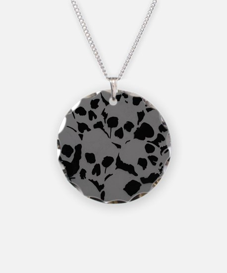 Skull Camouflage Necklace