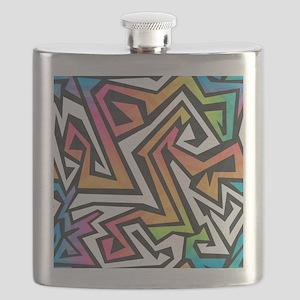 Graffiti Flask