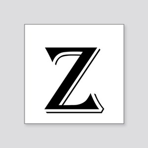 Fancy Letter Z Sticker