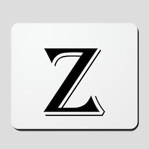 Fancy Letter Z Mousepad