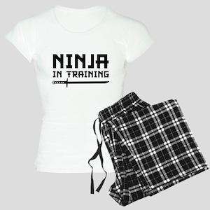 Ninja In Training Women's Light Pajamas